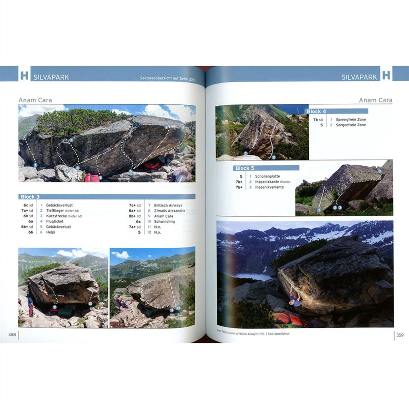 Alpen en Bloc Volume 1 pages