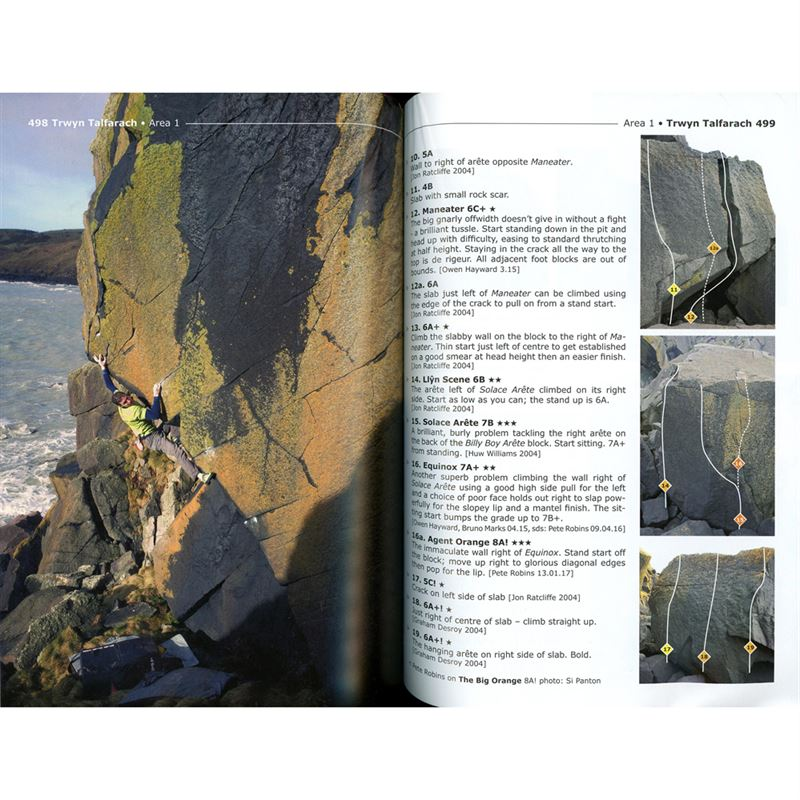 North Wales Bouldering pages
