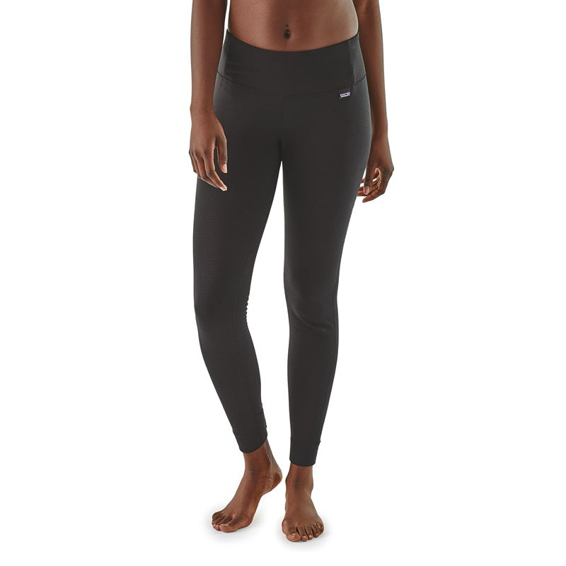 Patagonia Women's Capilene Thermal Weight Bottoms Black