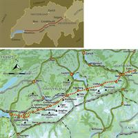 Swiss Alpine Pass Route coverage