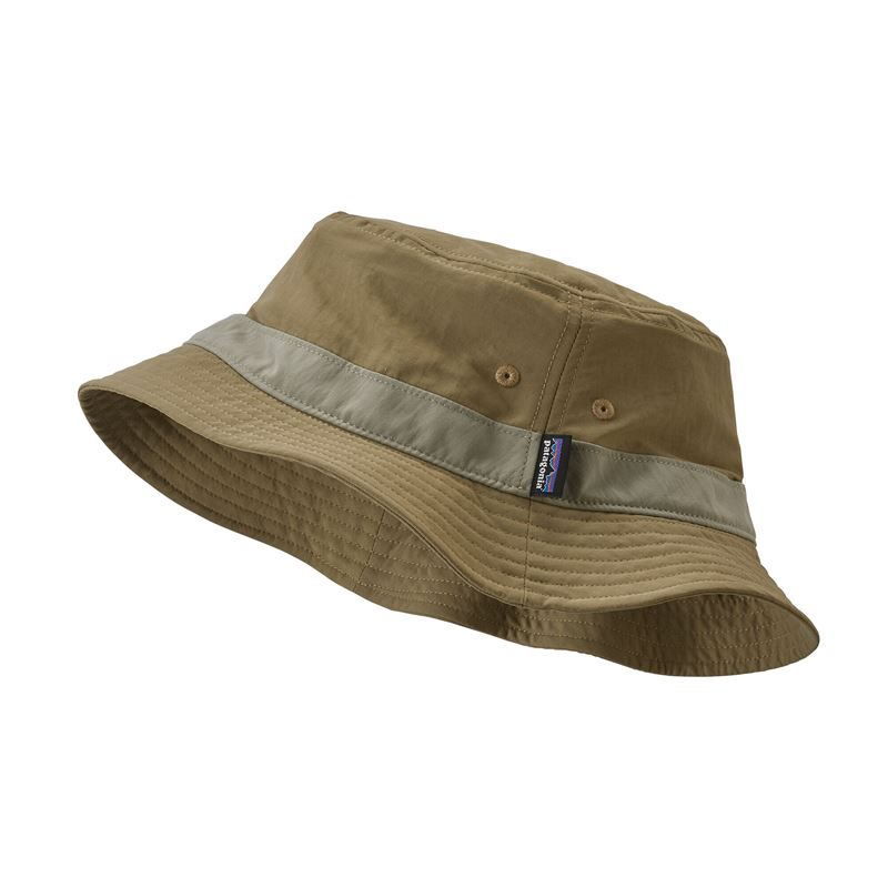 Patagonia Wavefarer Bucket Hat Ash Tan