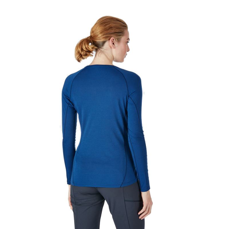 Rab Women's Forge LS Tee Blueprint