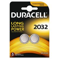 Duracell CR2032 Lithium Batteries (pack of 2)