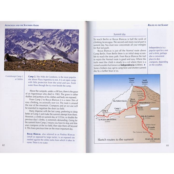 Aconcagua and the Southern Andes pages