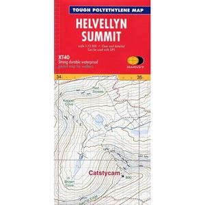 Harvey Summit Map Helvellyn
