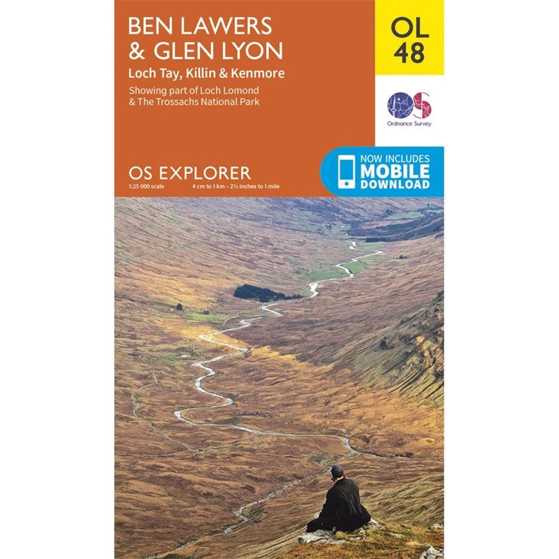 OS OL/Explorer 48 Paper - Ben Lawers and Glen Lyon
