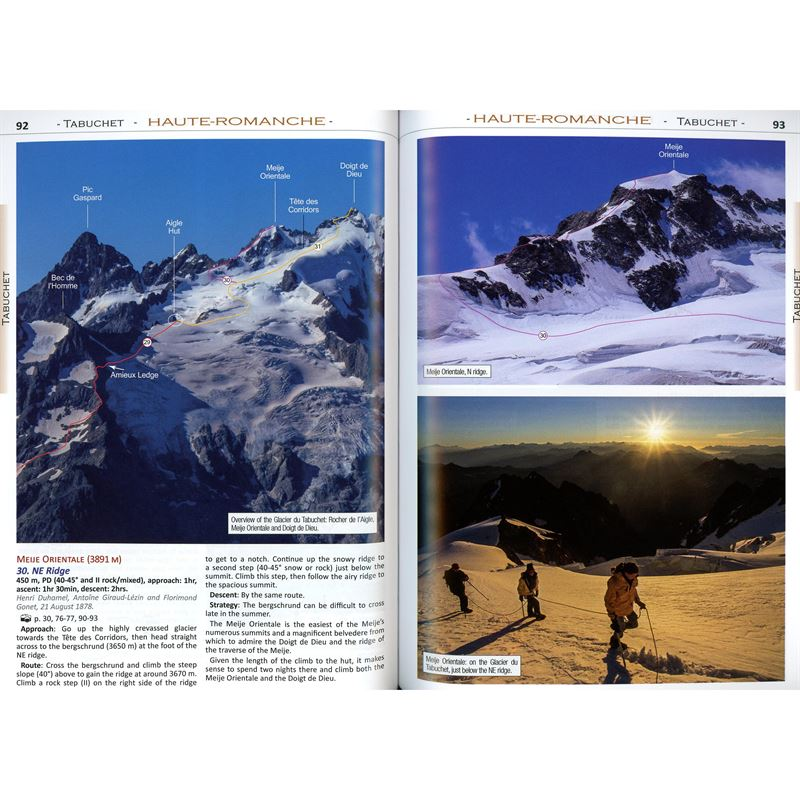 Classic Routes in the Écrins pages