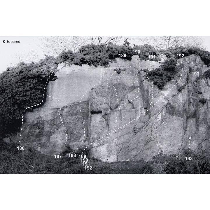 Dalkey Quarry diagram