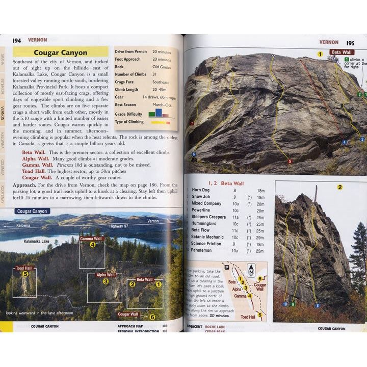 Canadian Rock: Select Climbs of the West pages