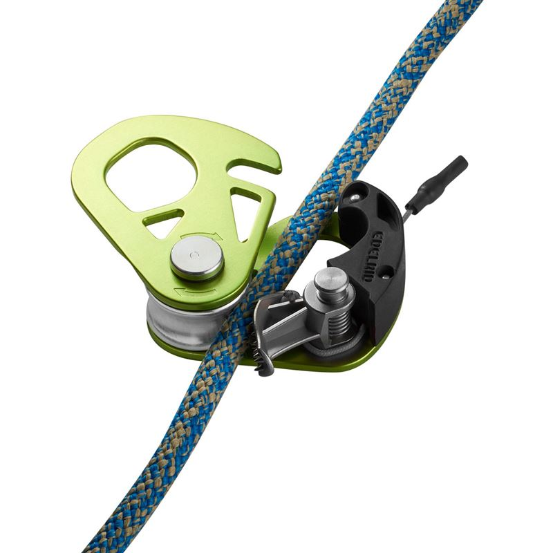 Edelrid Spoc in use