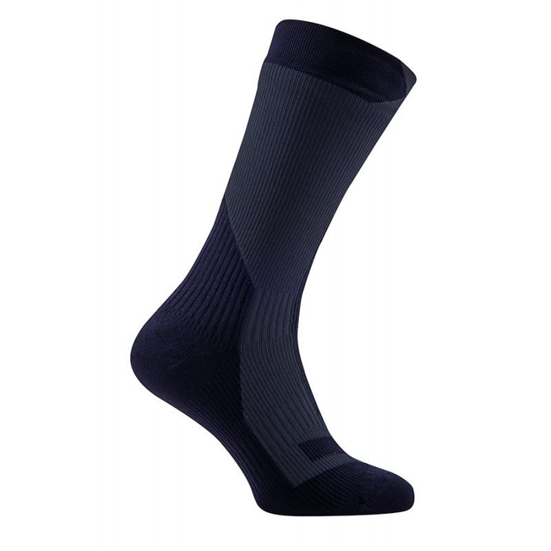Sealskinz Trekking Thick Mid Waterproof Sock Black
