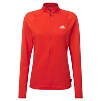 Mountain Equipment Women's Eclipse Zip-T Cardinal Orange