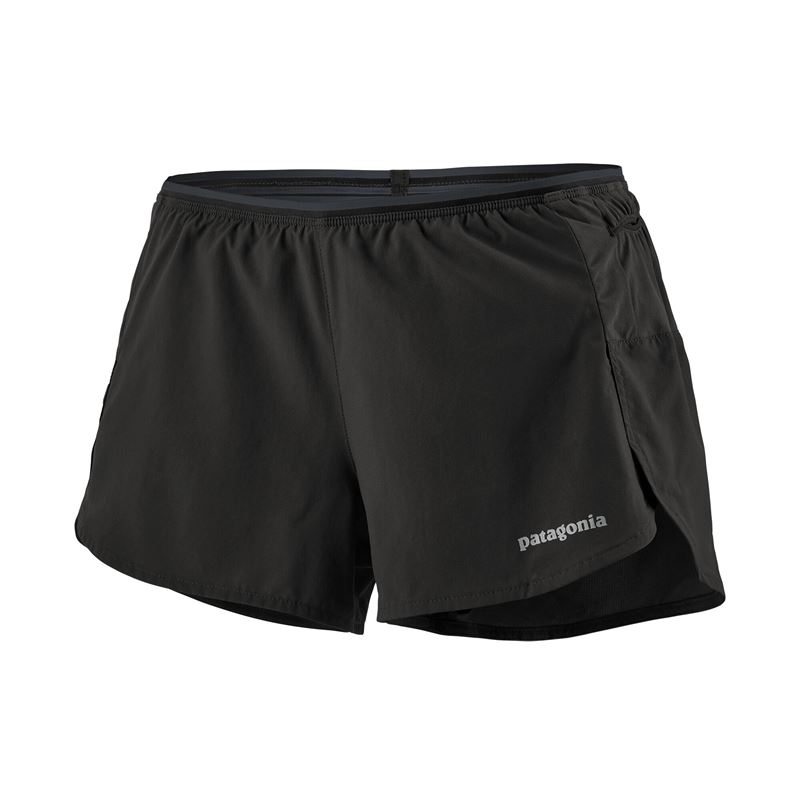"Patagonia Women's Strider Pro Running Shorts 3"" Black"