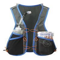 OMM Trailfire Vest Blue in use