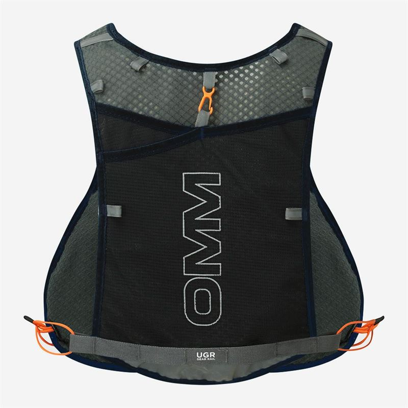 OMM Trailfire Vest Black back