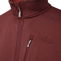 Rab Men's Geon Pull On Oxblood/Ascent Red