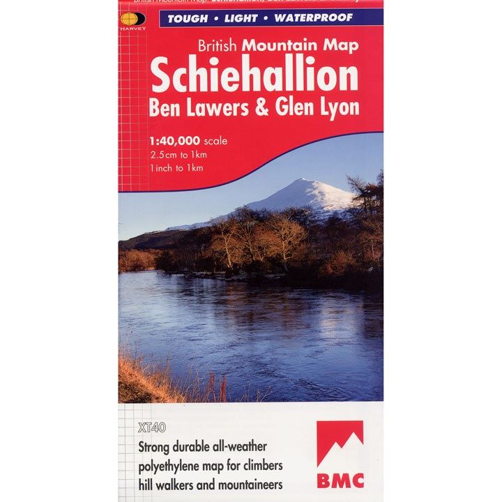 BMC Waterproof Mountain Map - Schiehallion, Ben Lawers & Glen Lyon