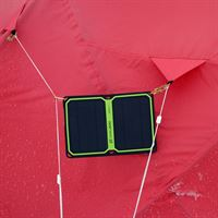 Goal Zero Nomad 7 Plus Solar Panel in use