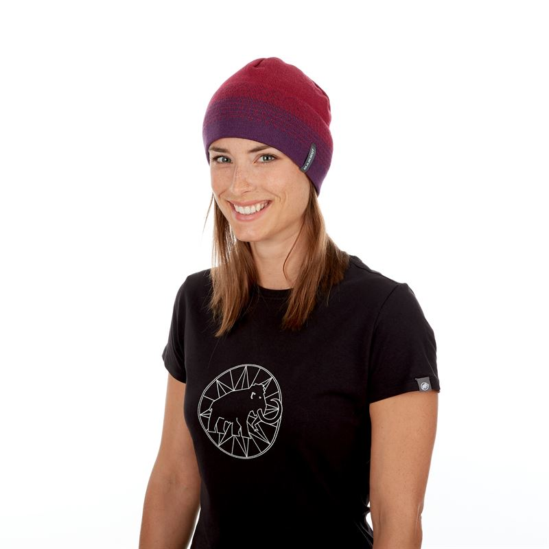 Mammut Merino Beanie Grape Beet