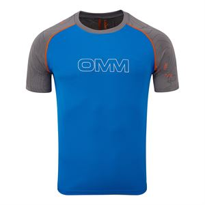OMM Men's Flow Tee Grey/Blue