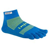 Injinji Run Original Weight Mini-Crew Charged Blue