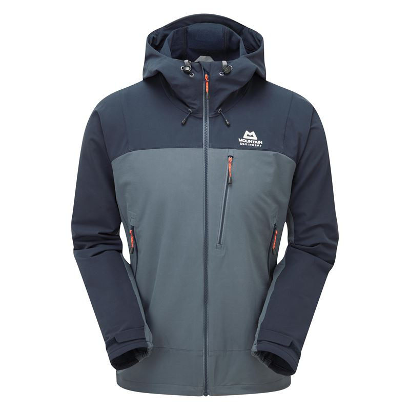 Mountain Equipment Men's Mission Jacket Ombre Blue/Cosmos