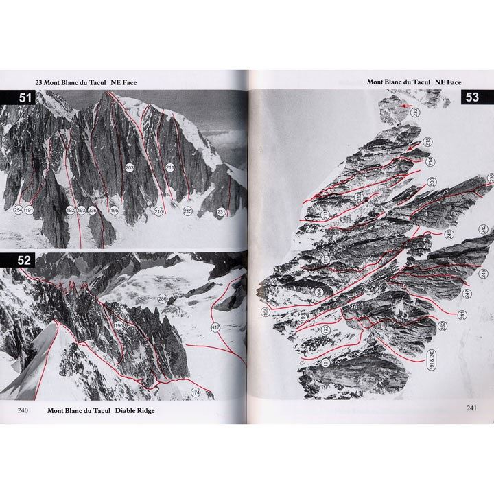 Mont Blanc Massif Volume 1 pages