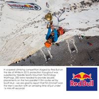 Mountain Technology Warthog Turf Screw at a Red Bull Competition