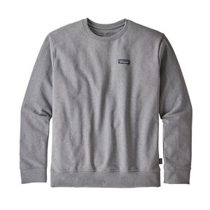 Patagonia Men's P-6 Label Uprisal Crew Sweatshirt Gravel Heather