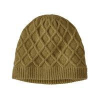 Patagonia Women's Honeycomb Beanie Grapeseed Green