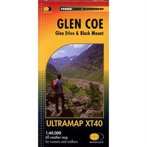 Harvey Ultramap XT40 - Glen Coe