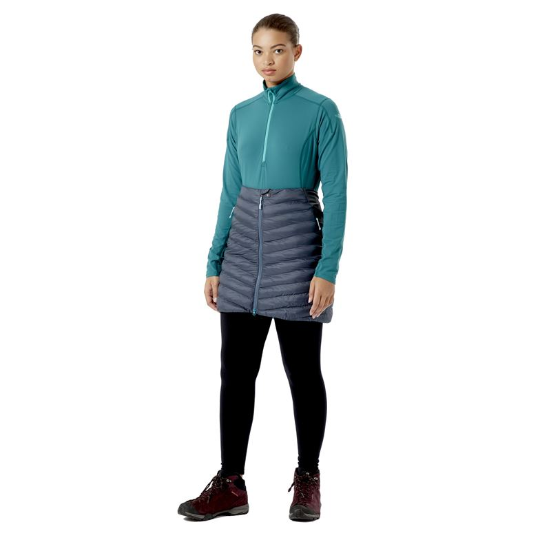 Rab Women's Cirrus Skirt Steel in use