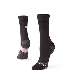 Stance Women's Uncommon Solids Wool Crew Black