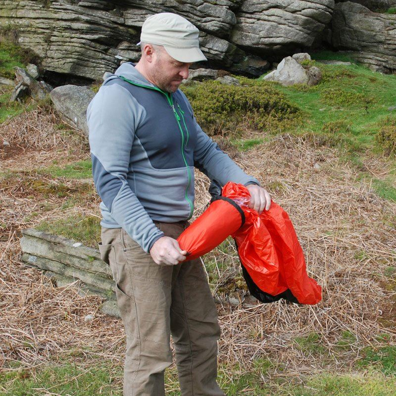 Terra Nova Bothy Bag 2 in use
