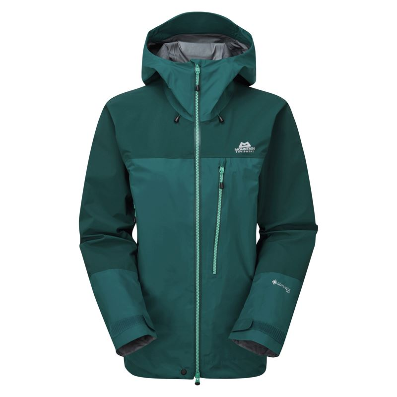Mountain Equipment Women's Manaslu Jacket Spruce/Deep Teal