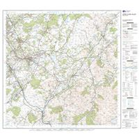 OS Landranger 72 Paper - Upper Clyde Valley sheet