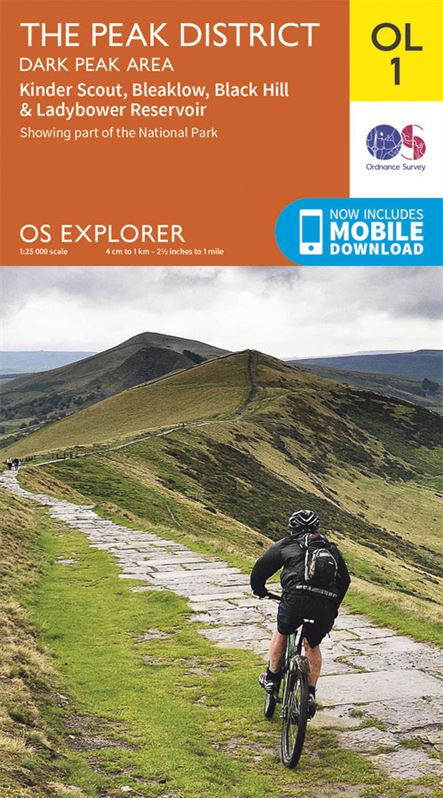 OS OL1 The Peak District - Dark Peak