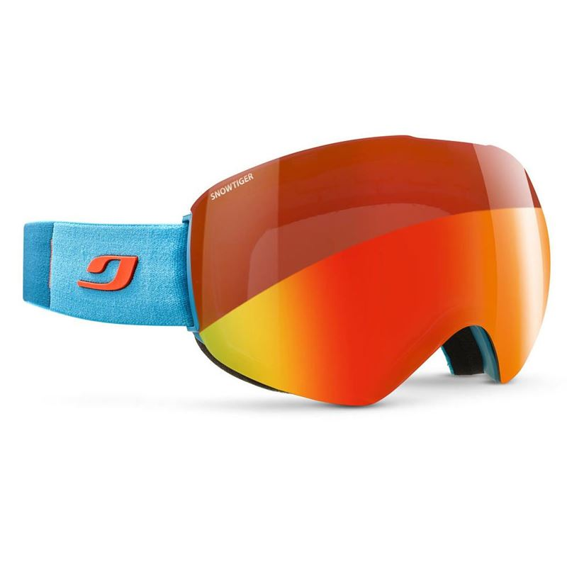 Julbo Skydome Snowtiger Goggles Cat 2-3 Dark Cyan/Orange