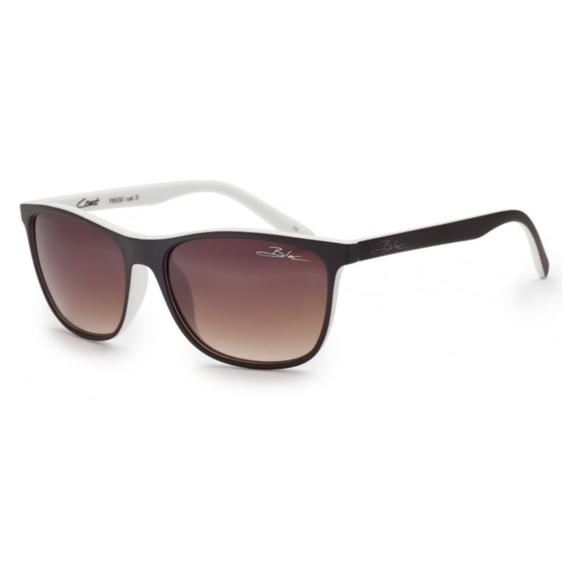 Bloc Coast F600 Brown/White with Graduated Brown Lenses