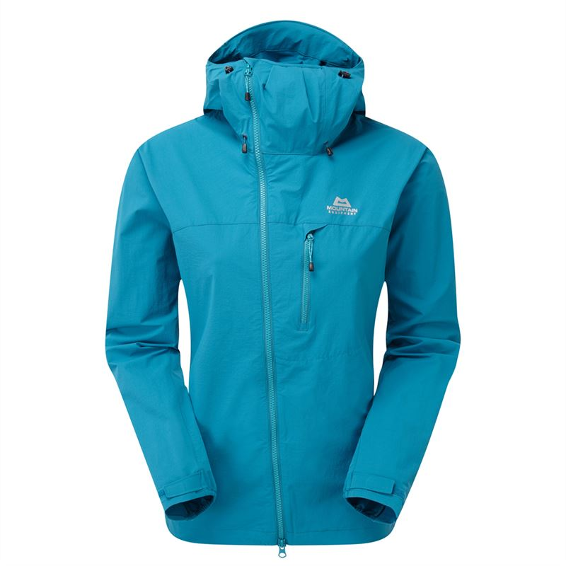 Mountain Equipment Women's Squall Hooded Jacket Tasman