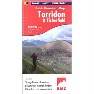 BMC Waterproof Mountain Map Torridon & Fisherfield 1:40,000