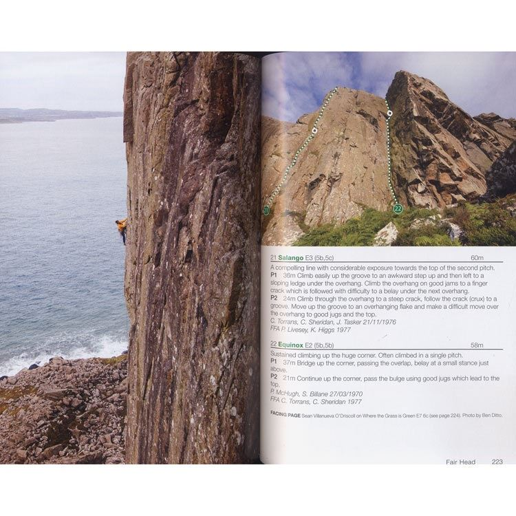 Rock Climbing in Ireland pages