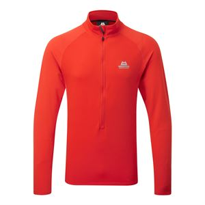 Mountain Equipment Men's Eclipse Zip-T Cardinal Orange