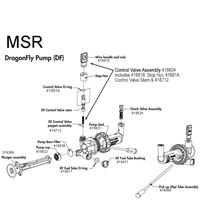 MSR Duraseal DragonFly Pump diagram