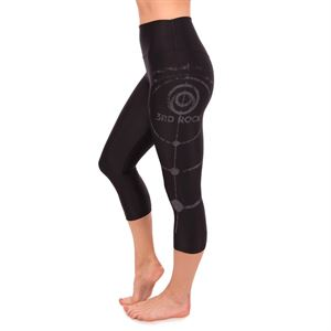 3rd Rock Women's Retitan Orbit 3/4 Leggings Black