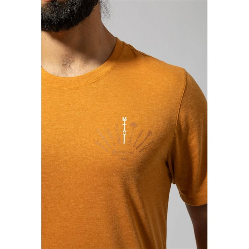 Montane Men's Trad T-Shirt in use