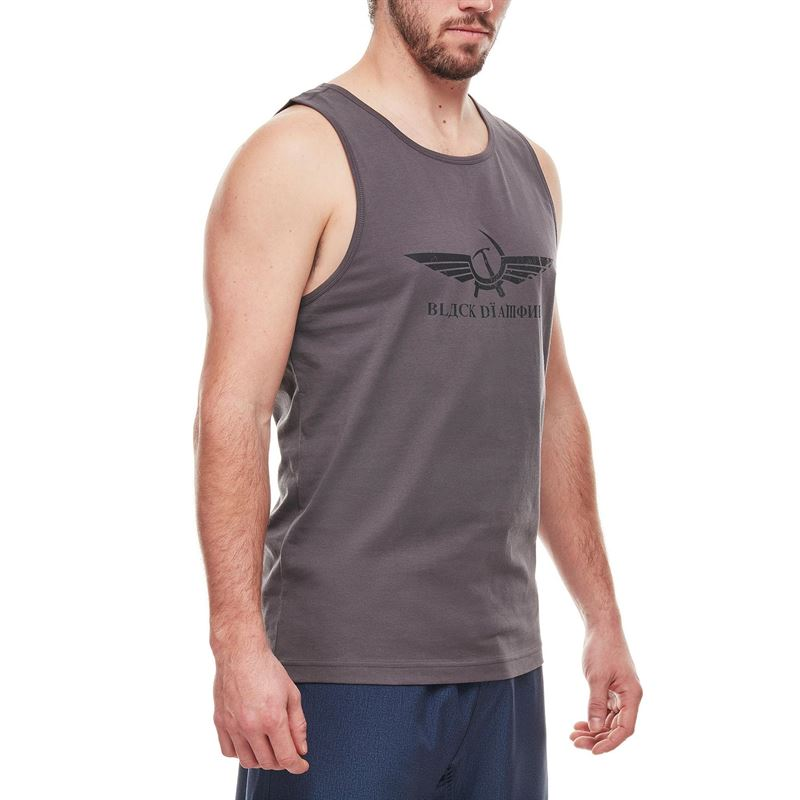Black Diamond Men's Perestroika Tank Slate