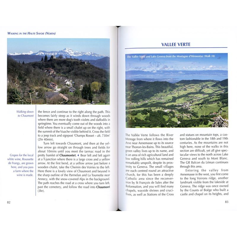 Walking in the Haute Savoie: North pages
