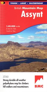 BMC Waterproof Mountain Map Assynt 1:40,000