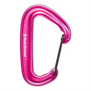 Black Diamond Miniwire Karabiner Ultrapink